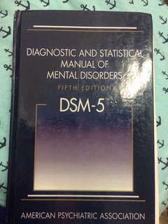 DSM-5 Fifth Edition