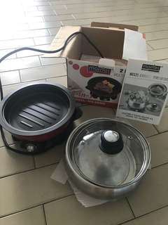 Steamboat and hot plate cooker