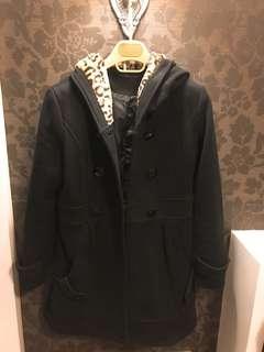 🚚 正韓豹紋長大衣,實品更美