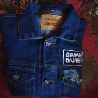 Jaket levis/denim