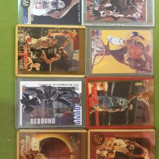 Shaquille O'Neal Basketball Cards in Mint Condition