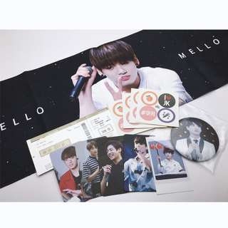 田征國 征國 JungKook HelloMello Slogan Set