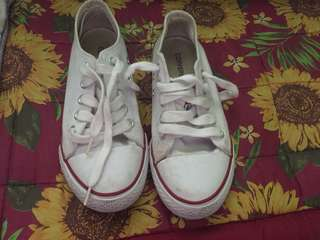 Converse white sneakers