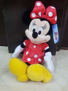 """Disney 13"""" Minnie Mouse in red outfit"""