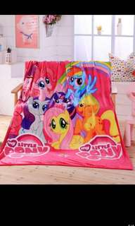 PO My Little Pony blankets for kids brand new size 2m*1.5m