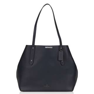 Coach Large Tote in Pebble Leather (F58737)