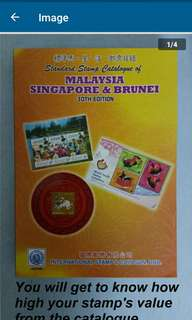 ISC Standard Stamp Catalogue of Malaysia Singapore & Brunie 30th Edition