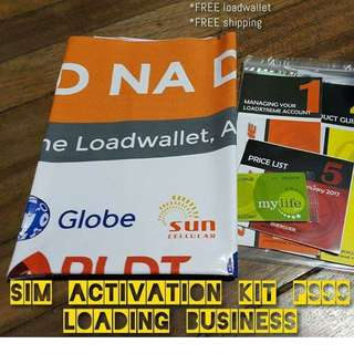 LOADING BUSINESS KIT NO CHARGE TO LOAD