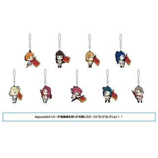 "[PO] ""Love Live! Sunshine!!"" Rubber Strap Collection Winner's Flag"