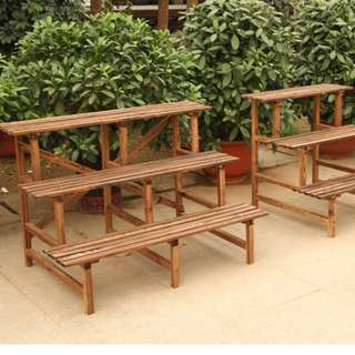 Plant Rack\ Stand\ Shelf - 3 Level 120cm