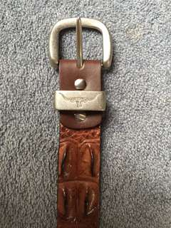 RM Williams Crocodile Belt