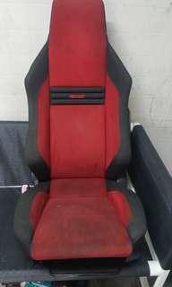used recaro passenger seat