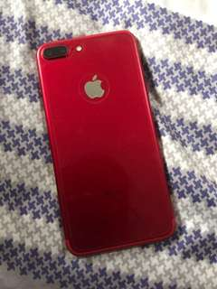Iphone 7+ red 128gb