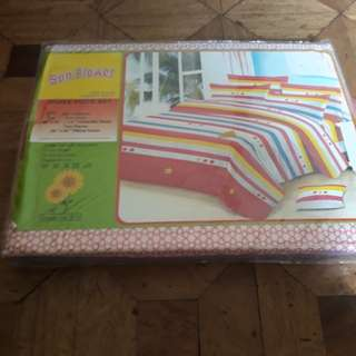 Three Piece Set (Fitted Bedsheet with 2 Pillowcases)