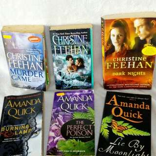 English Novels Christina Feehan / Amanda Quick