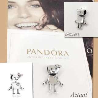 Pandora Bella Bot Charm