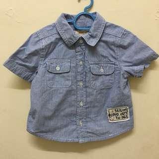 Boy shirt 6-12m