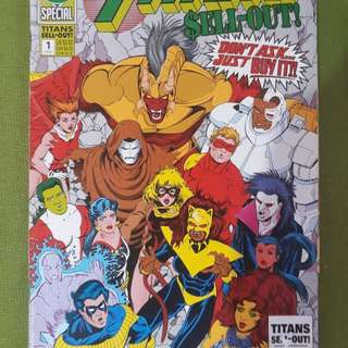 Teen Titans Special First Edition Comic Book