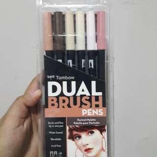 Tombow Dual Brush Pens Portrait Palette
