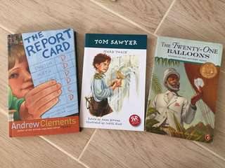 Tom Sawyer + 2 Books