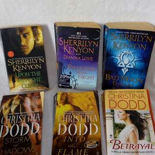 English Novels Christina Dodd / Sherilyn Kenyon