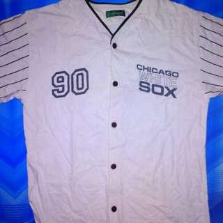 Baju baseball klub chicago white sox