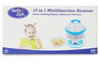 Multifunction steamer