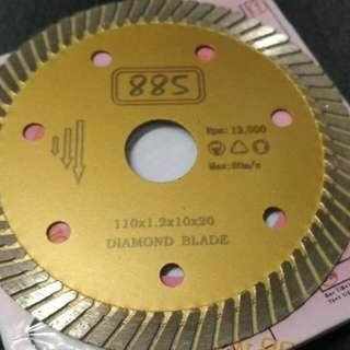 885 Diamond Laser Disc Superthin