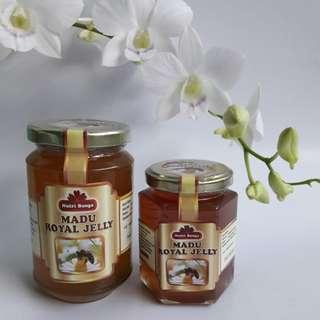 Madu Royal Jelly - Nutri Bunga (400gram)