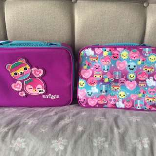 Smiggle Says Square Lunch Box (Pink)