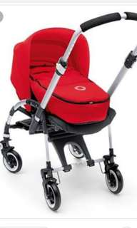 Bugaboo bee 3 complete set include bugaboo baby carrycoat for new born and bugaboo seat liner