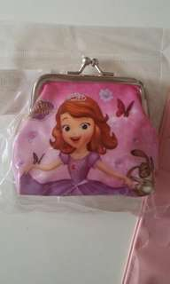 Sofia the First coin pouch