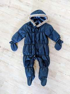 NEXT Baby Boys Winter Suit Overall Size 6-9 Months