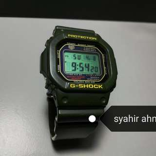 G-SHOCK G-5600A-3 limited