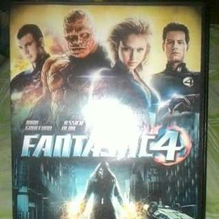 ORIGINAL FANTASTIC 4 DVD!