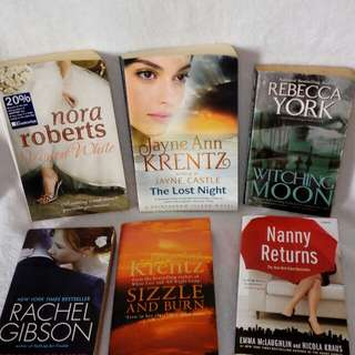 English Novels mix