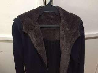 Dark Blue Uniqlo Jacket