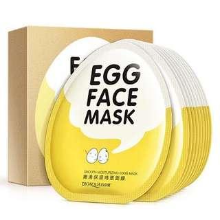 Masker Wajah Bioaqua Egg