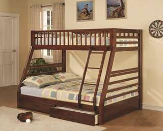 Brand new bunk bed with drawers