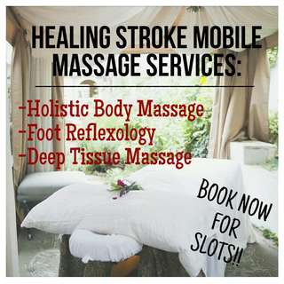 HEALINGSTROKE MOBILE MASSAGES SERVICES (FOR MEN  & WOMEN)