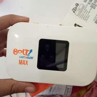 Modem wifi BOLT Free kuota 32GB