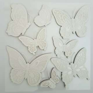 Butterfly Laced Wall Decal