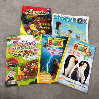 Story Box ~ Discovery Box ~ Smart Mathematician ~ Young Scientist