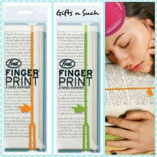 Stretchable silicone bookmarks