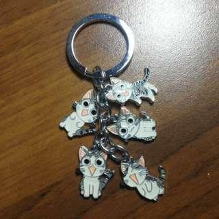🚚 貓咪鑰匙圈