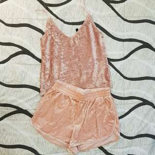 H&M top and bottom