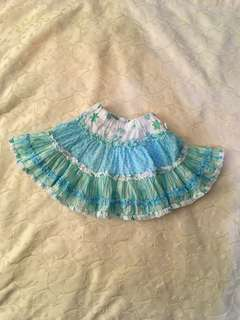 Charity Sale! Authentic Pumpkin Patch Baby Girl Skirt Size 6-12 Months
