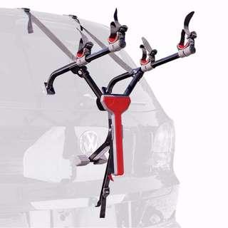 Ultra Compact Folding 2-Bike / Bicycle Car Trunk Mount Rack (for sedan, hatchback or SUV)