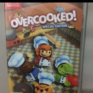 overcooked(全新未開)switch