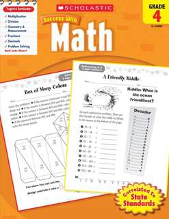 Scholastic Success with Math Grade 4 (PDF)
